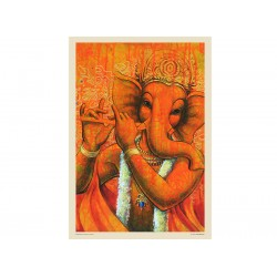 Lord Ganesh with Flute 3