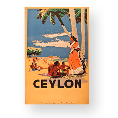 Shop Vintage Posters Of Sri Lanka Online I Love Ceylon